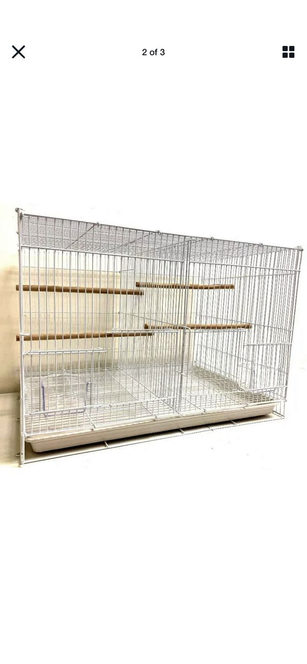 4.3 out of 5 stars 21 Reviews Mcage Small Aviary Canary Finch Budgie Lovebird Parakeet Breeding Bird Flight Cages, Pack of 6, 24 x 16 x 16 H