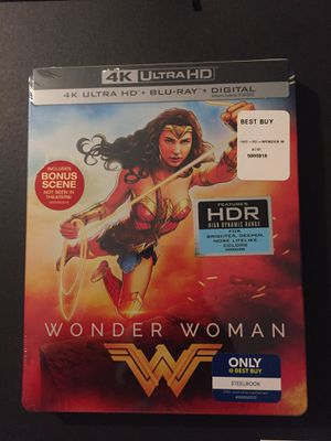 Wonder Woman steelbook for Sale in March Air Reserve Base, CA