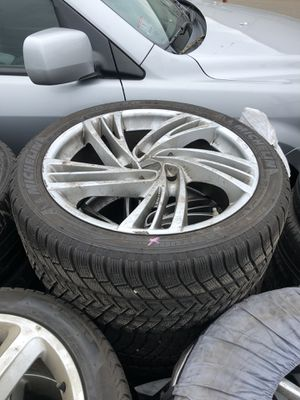 Porsche Cayenne turbo wheels with tires for Sale in Boston, MA