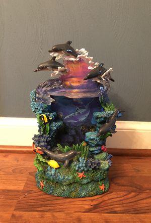 Beautiful dolphin waterfall Fountain for Sale in Virginia Beach, VA
