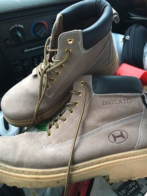 LNEW Leather boot size 12 only 30 Firm for Sale in Glen Burnie, MD