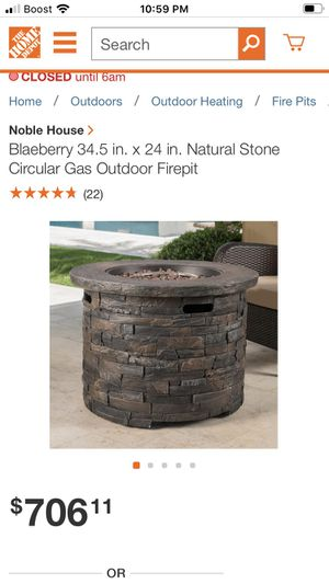 New gas fire pit never used $400 cash or Venmo for Sale in West Valley City, UT