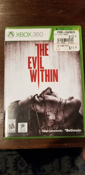 Evil within game for Sale in Antioch, CA