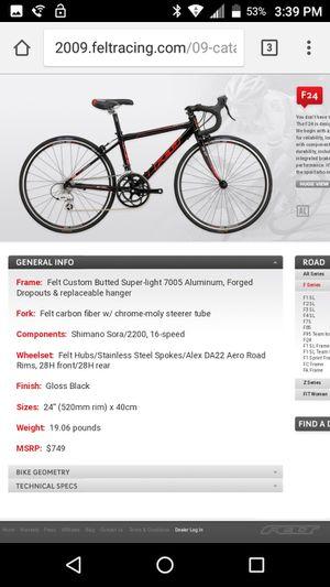 """Felt 24"""" kids road bike for Sale in Salt Lake City, UT"""