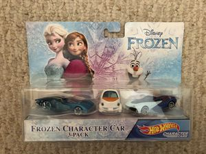 Disney Frozen Hot-wheels Character 3-Pack for Sale in Miami, FL