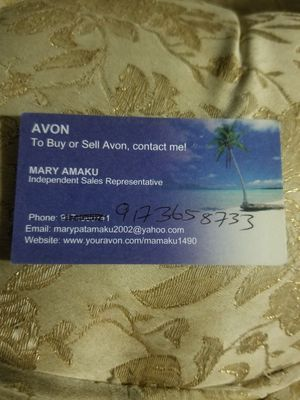 Avon business card for Sale in New York, NY