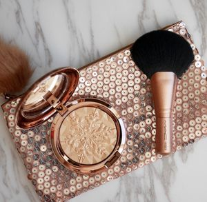 MAC LIMITED EDITION MAKEUP BAG & HIGHLIGHTER BRUSH for Sale in Austin, TX