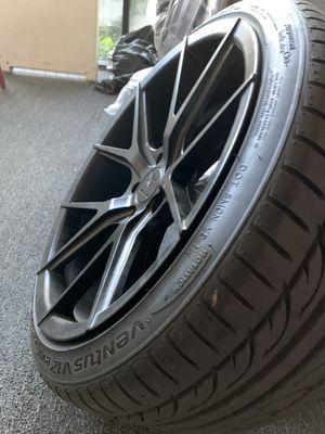 19x9.5 Verde Wheels on Hankook Tires for Sale in Upland, CA