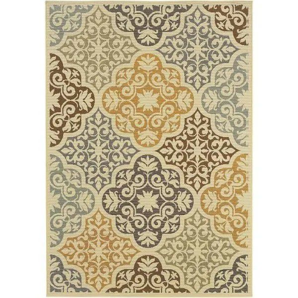 Carson carrington egyptian floral rug.