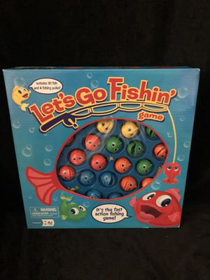 Let's Go Fishin Game for Sale in Los Angeles, CA