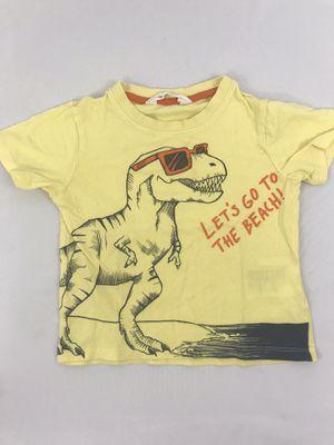 H&M Yellow Dinosaur Shirt, Size 2T for Sale in Bonney Lake, WA