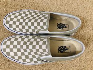 Vans shoes- checker board sleep on for Sale in Charlotte, NC