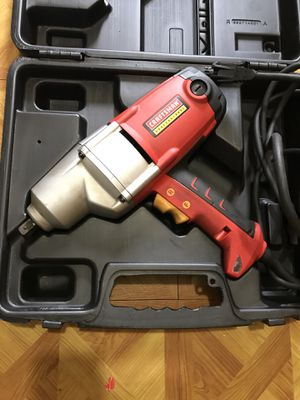 Impact Wrench like new (craftsman) for Sale in Boston, MA