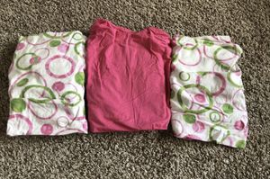 3 baby girls crib fitted sheets for Sale in Mansfield, TX