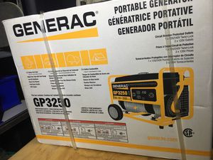 Generac Generator GP 3250 for Sale in Reynoldsburg, OH