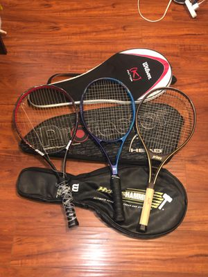 Tennis Rackets/Tennis bags/Tennis Gear for Sale in Bell Gardens, CA