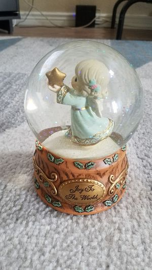 Precious Moments Christmas Musical Snowglobe for Sale in Phoenix, AZ