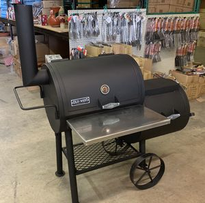 Old West Outdoor Barbeque BBQ Grill - Comes with with a variety of accessories! for Sale in Dallas, TX