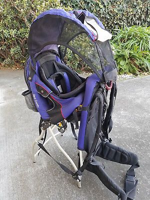 EUC Kelty Back Country hiking framed Baby backpack carrier WITH SUNSHADE HOOD ONLY $85 for Sale in Tempe, AZ