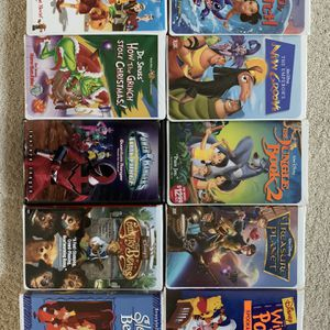 Disney/Family Movie VHS Bundle for Sale in Moseley, VA