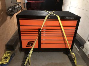 Snap-on double bay KRL tool box for Sale in Vernalis, CA