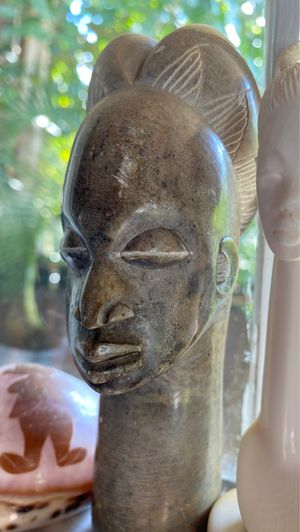 Stone handcarved 6 inch tall fertility statue for Sale in Riviera Beach, FL