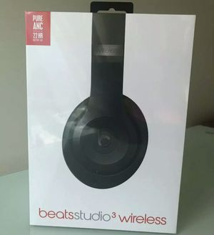 New Beats Studio 3 Wireless Headphones Black for Sale in Sunnyvale, CA