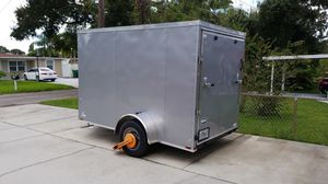 Enclose trailer 6x10 , brand new, never used for Sale in Tampa, FL