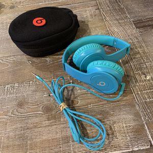 Beats Solo HD Headphones turquoise for Sale in Auburn, WA