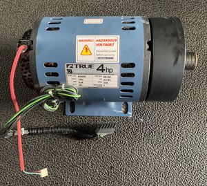 True 4hp Motor with pulley for Sale in Tampa, FL
