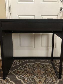 Desk - IKEA Micke Black for Sale in Sylmar,  CA