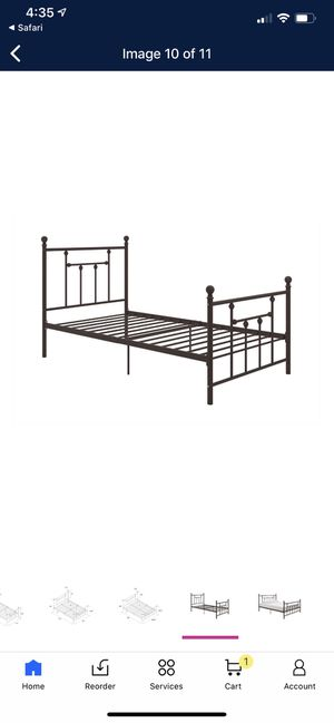 Queen bed frame new in box for Sale in Cleveland, OH