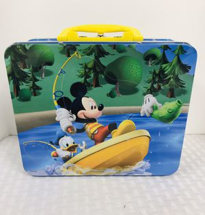 Disney Collectibles Mickey Mouse Tin Lunchbox for Sale in East Providence, RI