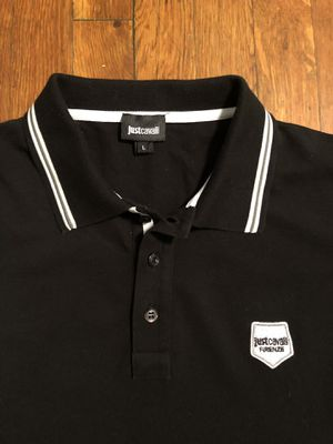 Just Cavalli men's polo shirt paid $170 size L good condition for Sale in Washington, DC