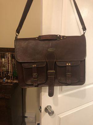 Leather messenger bag, vintage &leather for Sale in Washington, DC