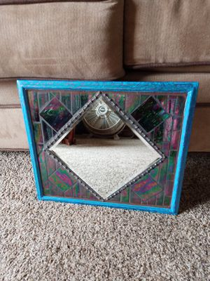 Stained glass Mosaic mirror for Sale in North Royalton, OH