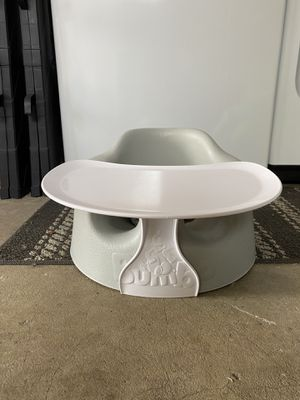 Baby bumbo chair w tray for Sale in Spanaway, WA