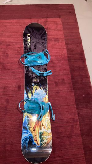 Libtech snowboard 59 inches tall 159w ride bindings dakaine for Sale in Herndon, VA