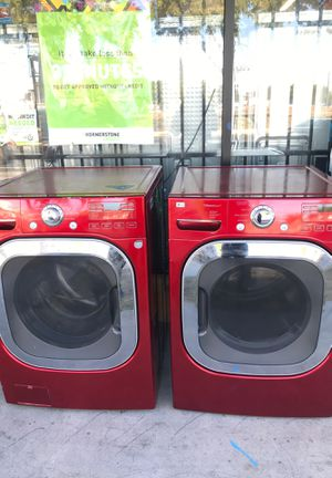 Red SteamWasher Washer &Dryer for Sale in Tustin, CA