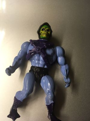Vintage MOTU Skelator Action Figure Toy Collection. Made in France for Sale in El Paso, TX