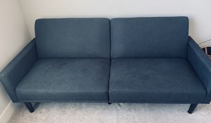 Futon Couch - Charcoal Grey for Sale in East Wenatchee, WA