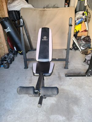 Marcy weight bench, leg curl, leg extension. for Sale in Riverside, CA