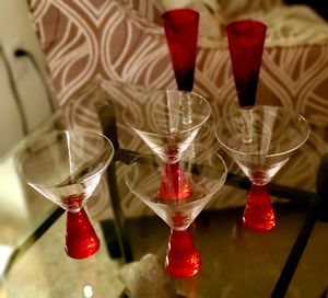 Rouge Witerberry Martini and Champagne Flutes Glasses - New Never Used for Sale in Roseville, CA