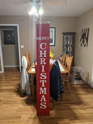 Handmade Christmas sign for Sale in Lithia Springs, GA