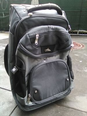 High Sierra wheeled backpack w/ removable day pack for Sale in San Francisco, CA