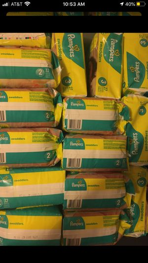 Pampers & Huggies diapers mix n match 18pks/$100 for Sale in Browns Mills, NJ