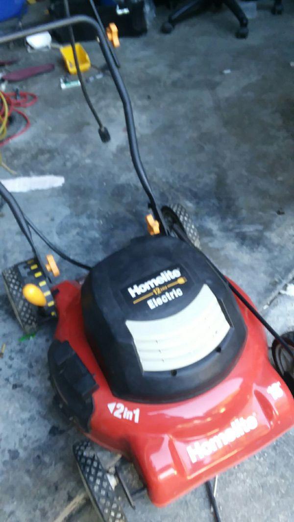 Electric Lawn Mower Sacramento