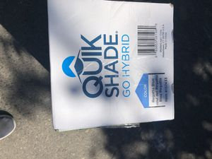 QUIK SHADE Blue Go Hybrid Compact Backpack Canopy for Sale in Modesto, CA