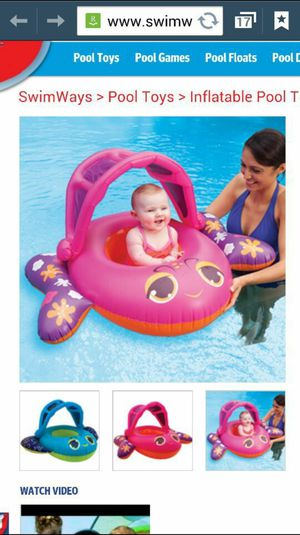 Swimways Sun Canopy Baby Boat for Sale in Bloomingdale, IL
