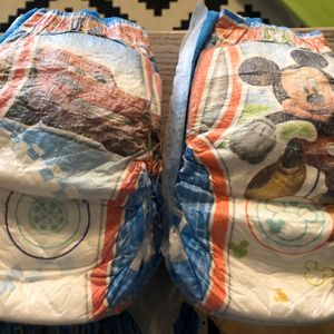 33 Huggies Pull-Ups 3T-4T Boys Plus 11 Swim Diapers for Sale in Scottsdale, AZ